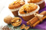 EINKORN MUFFINS WITH APPLE AND CINNAMON