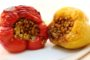 Stuffed Peppers with Einkorn Berries and Cauliflower